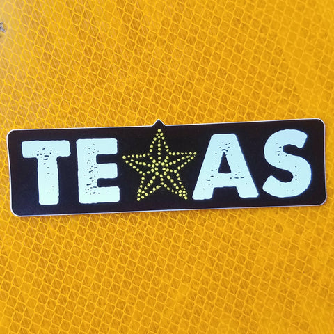 Texas El Paso Star Sticker