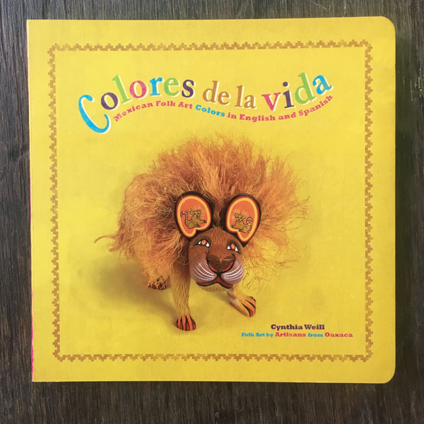 """Colores de la Vida"" bilingual book"