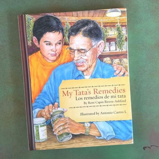 """My Tata's Remedies"" bilingual book"