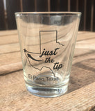 Just the Tip Shot Glass