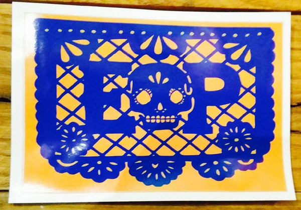 Papel Picado Stickers by Tino Ortega