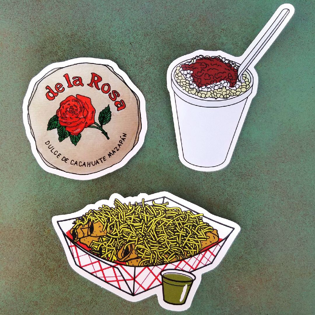 EP Tasty Treat Stickers