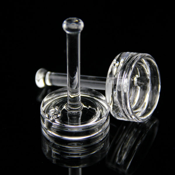 Handled Quartz Carb Cap