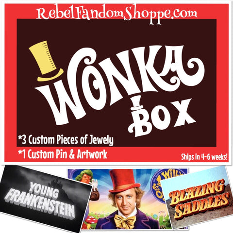 Willy Wonka Box