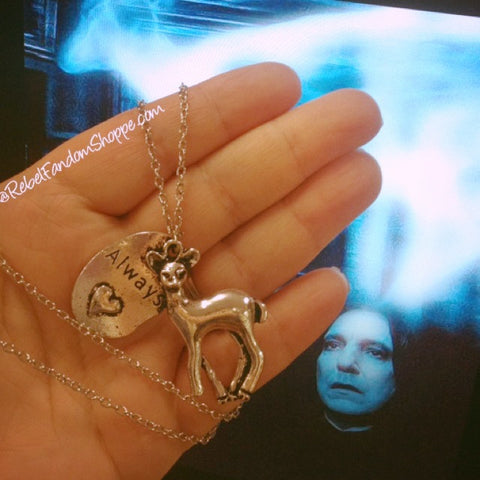 Always Doe Patronus Pendant
