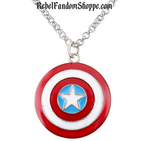 American Hero Shield Pendant