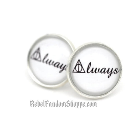 Always Stud Earrings - Silver
