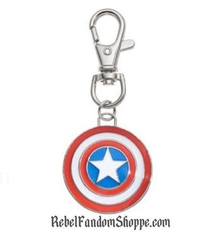 American Hero Shield Keychain