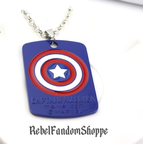 American Hero Dog Tag Pendant