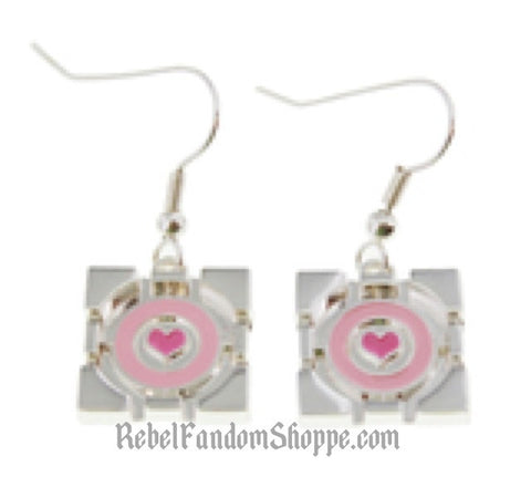 Gamer Heart Earrings