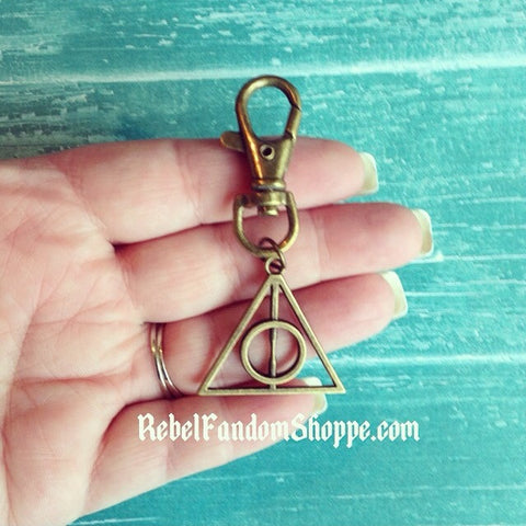 Hallows Keychain - Bronze