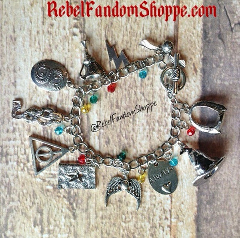 Charms Wizard Bracelet