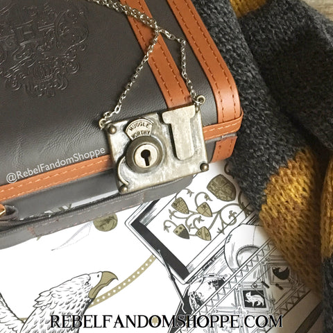 Fantastic Beasts Lock Necklace
