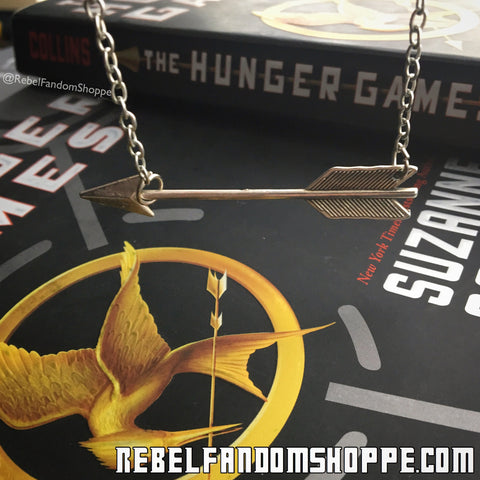 Arrow Necklace - Silver