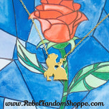 Beauty & the Beast Necklace