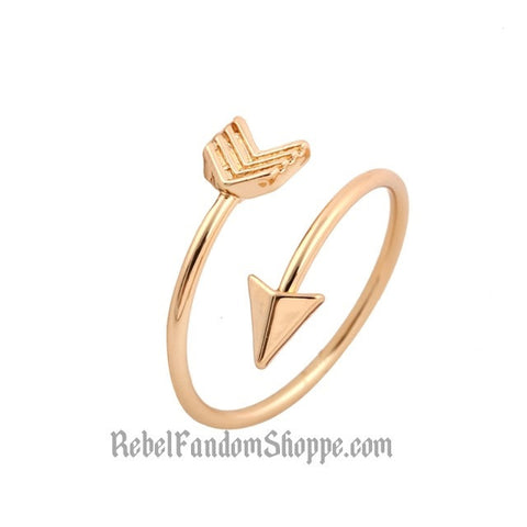 Arrow Wrap Ring - Gold