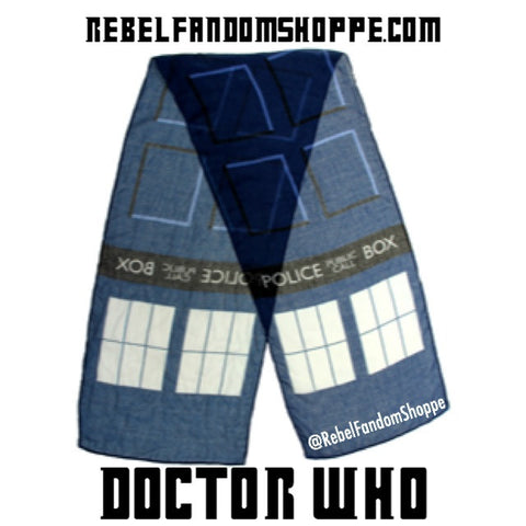 Doctor Who Lightweight Scarf