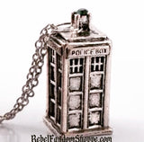 Doctor - Police Box-Silver
