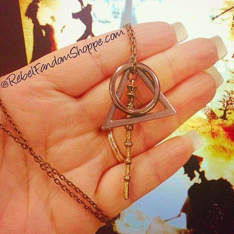 Wizard Charm Necklace