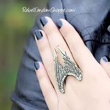 Angel Wings Ring - Bronze/Gold