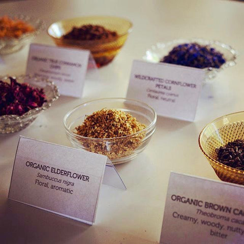 Tea Blending Workshop - creating personalised tea blends
