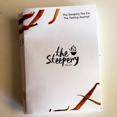 The Steepery Tea Co. Tea Tasting Journal