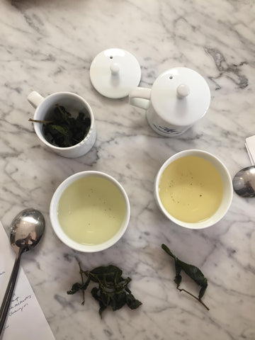 Jin Xuan - tea cupping
