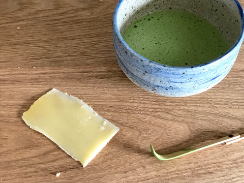 The Steepery Tea Co. - Matcha Tea & Cheese pairing