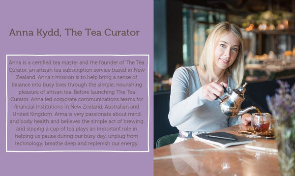 Anna Kydd Bio from The Tea Curator