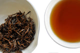 The Steepery Tea Co. - The Steepery Tea Co. - Golden Steed Eyebrow wet leaf & liquor