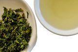 The Steepery Tea Co. -2020 Tokujo Sencha wet leaf & liquor