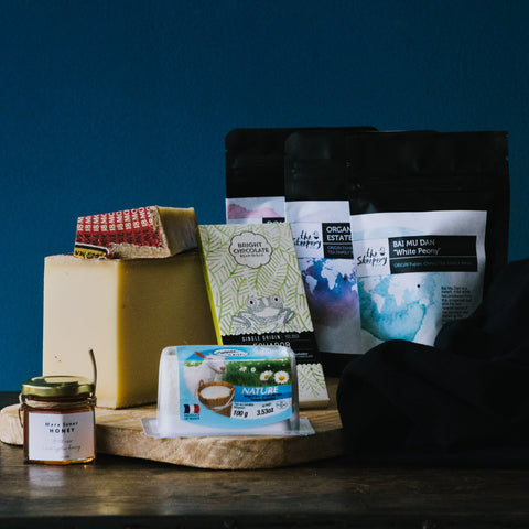 Cheese & Tea Hamper