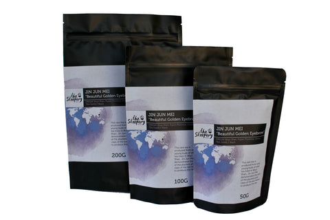 Sample stand-up-pouch packaging