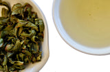Minamisayaka Oolong wet leaf & liquor