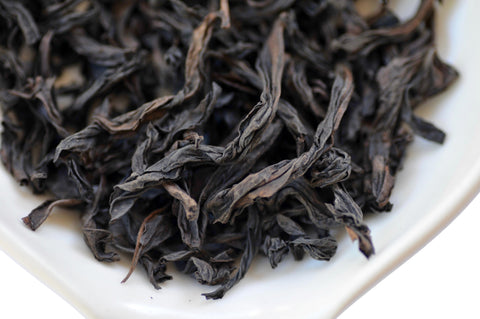 The Steepery Tea Co. - 2017 Rou Gui dry leaf
