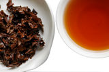 The Steepery Tea Co. - Organic Harrington Estate OP wet leaves & tea liquor