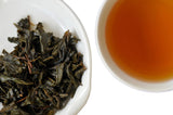 The Steepery Tea Co. - Organic Hojicha wet leaf & liquor