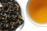 The Steepery Tea Co. - Pomelo Scented Chelan wet leaf & liquor