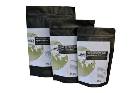The Steepery Tea Co. dark tea collection