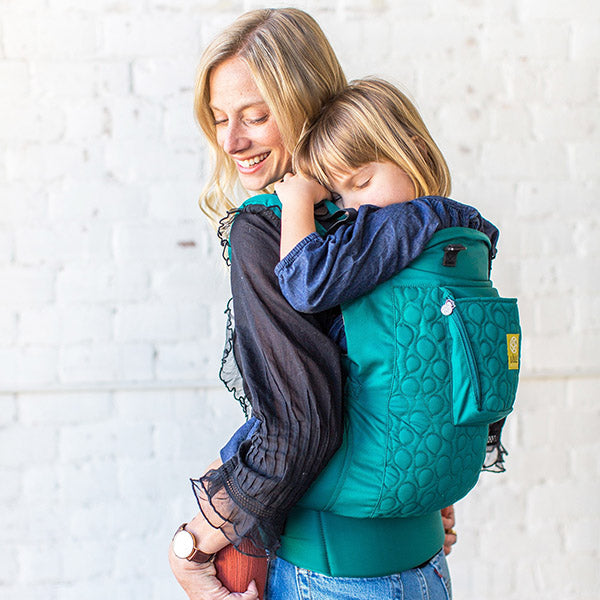 Lillebaby Carry On (Toddler Size) Embossed Emerald / Hug and Cuddles