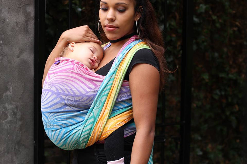 Yaro Dandy Spectrum Woven Wrap - Hug and Cuddles