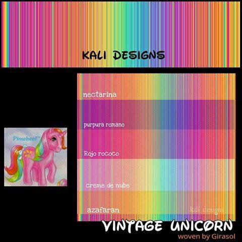 Girasol Vintage Unicorn by Kali Designs