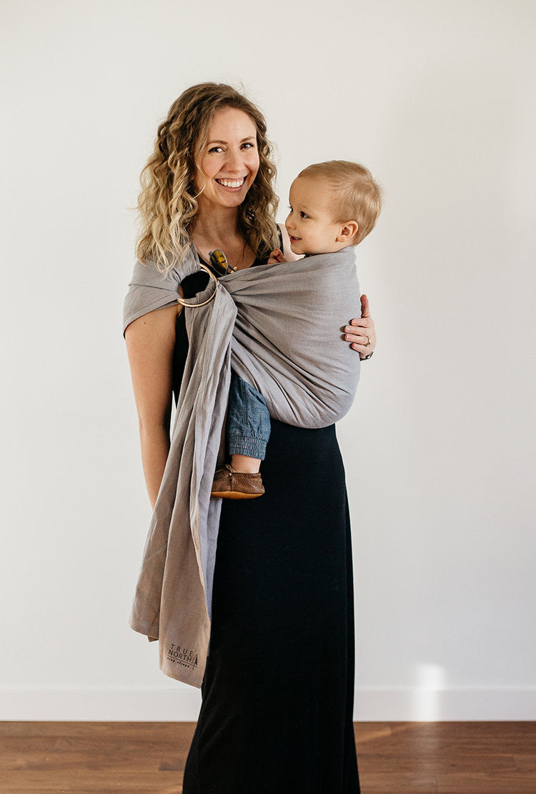 True North Rocky Mountains Ring Sling - Hug and Cuddles