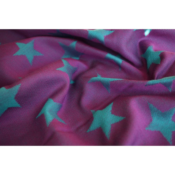 Yaro Stars Purple Turkis Tencel