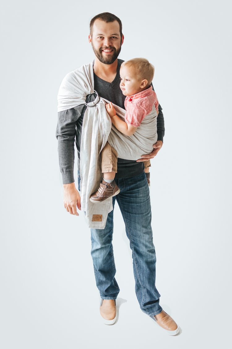 True North Tofino Ring Sling - Hug and Cuddles