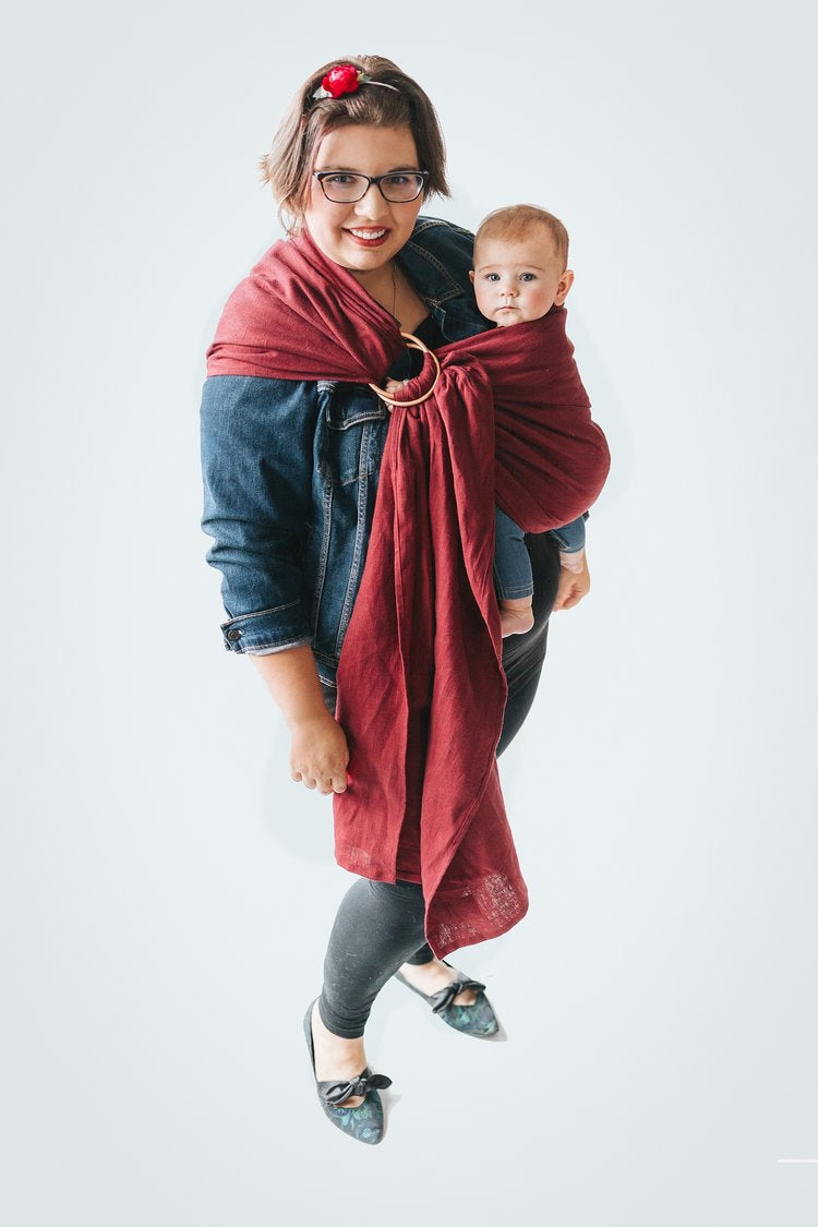 True North Trillium Ring Sling - Hug and Cuddles