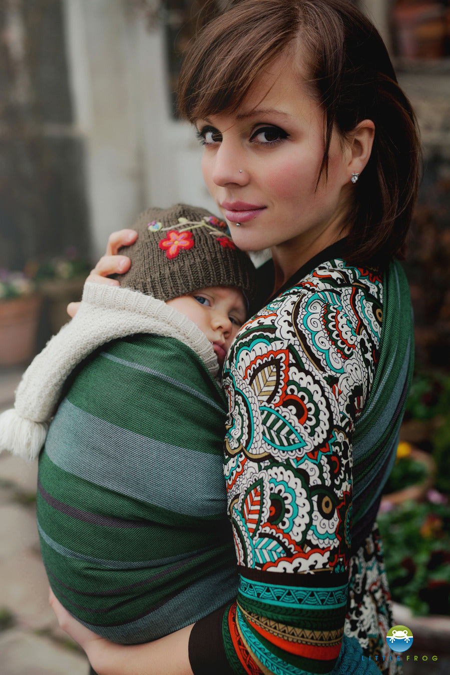 Little Frog Adamite Ring Sling