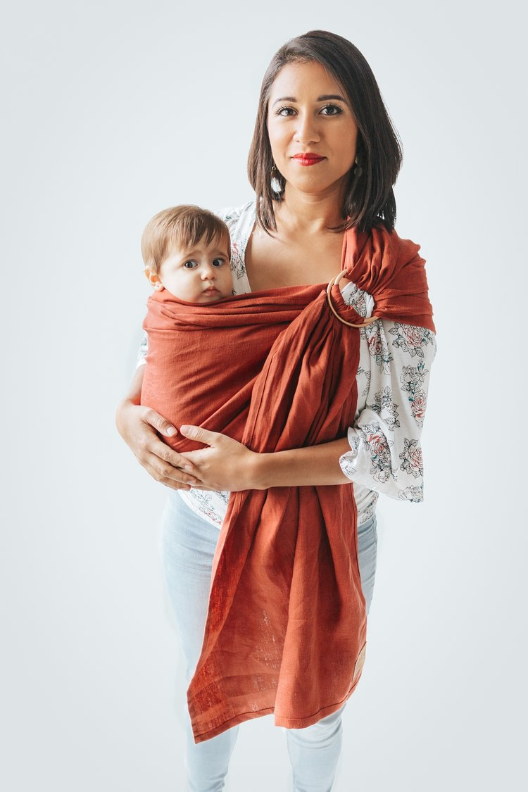 True North East Coast Ring Sling - Hug and Cuddles