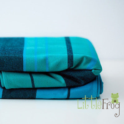 Little Frog Chrysocolla Woven Wrap - Hug and Cuddles