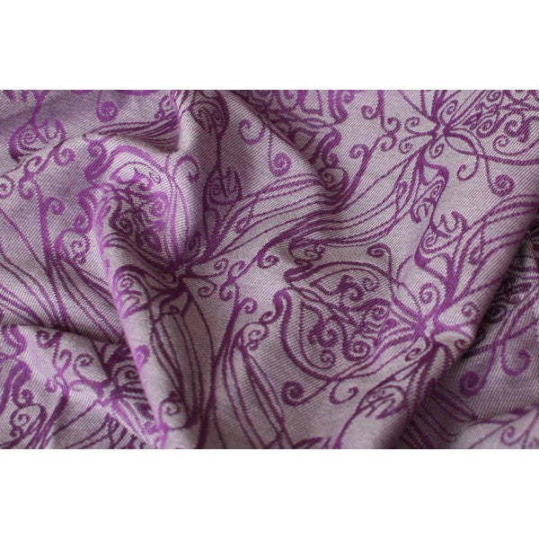 Yaro Elvish Purple Silver Tencel Wool (Size 6 only)